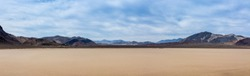 Desert Landscape of Death Valley National Park Nevada USA Panorama