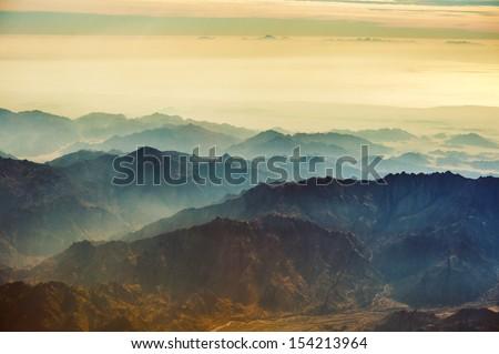 Desert mountains of Sinai Peninsula.
