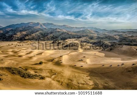 Desert of Mastura city Saudi Arabia