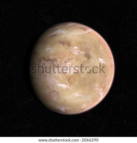 Desert planet.