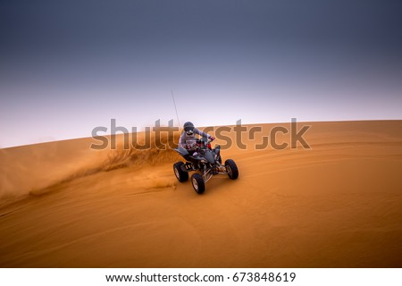 Desert Quad Bike Stock photo ©
