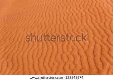 Desert sand background, Namib desert. Namibia, South Africa