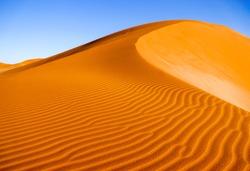Desert sand dune landscape background