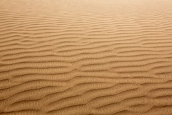 Desert sand dunes texture in Maspalomas Gran Canaria at Canary islands