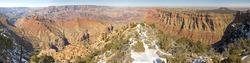 Desert View Grand Canyon, Arizona Panorama