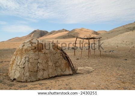 Deserted Himba Hut