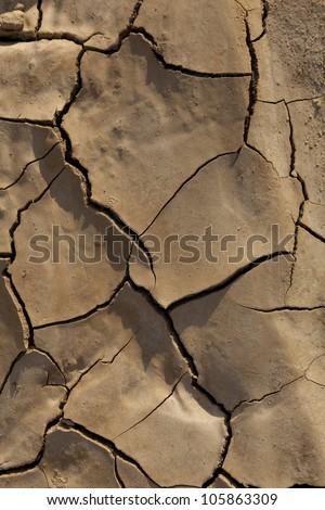 Desertification, Bardenas Reales, Navarra, Spain