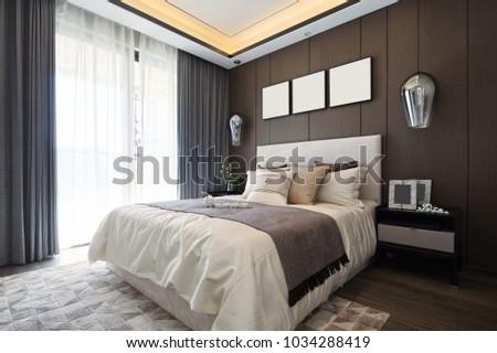 design and decoration of modern bedroom