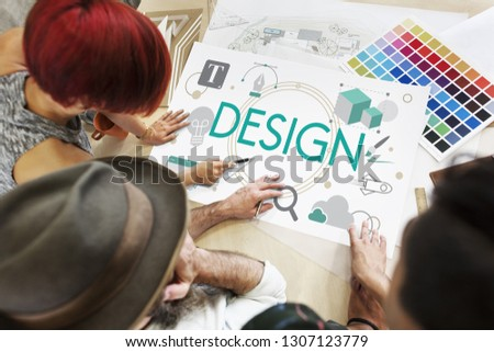 Design Creative Drawing Model Objective