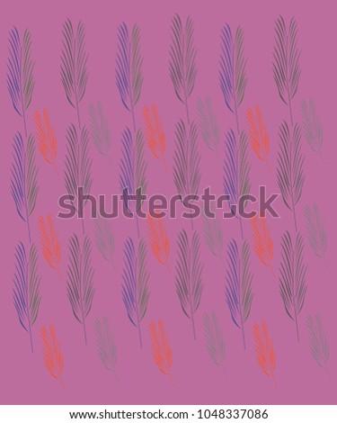 Shutterstock Design exotic palms on pink. Palms design exotico, wild elements jpg