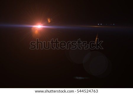 Design natural lens flare in space. Rays background #544524763