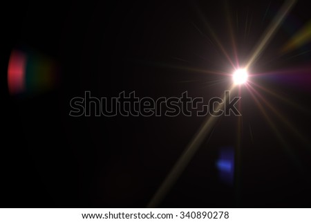 Design natural lens flare. Rays background - Shutterstock ID 340890278