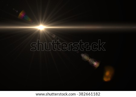 Design natural lens flare. Rays background - Shutterstock ID 382661182