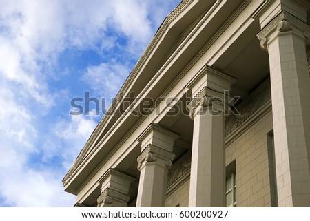design of building in...