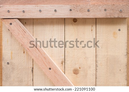 design of wood crate for cargo protection package