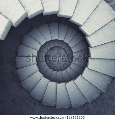 design spiral staircase made of ...