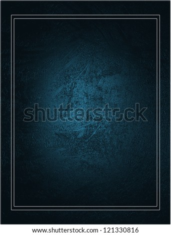 Design template. Beautiful blue background with blue nameplate