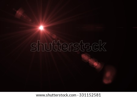 Design template - Star, sun with lens flare. Rays background - Shutterstock ID 331152581