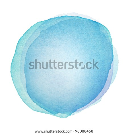 Designed abstract watercolor background, design element.