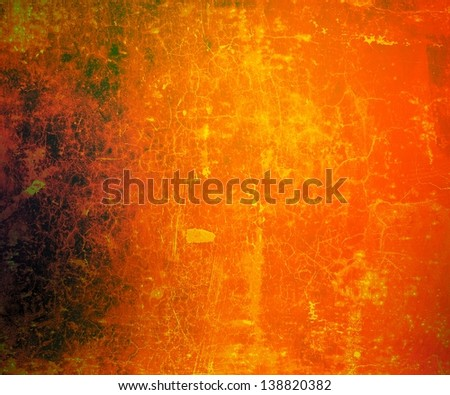 Designed artistic grunge background. For creative layout design, vintage-style illustrations, and web site wallpaper or texture