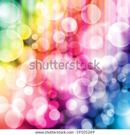 designed colorful bokeh background