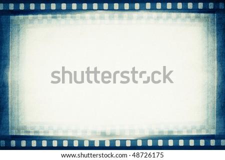 designed empty film strip background