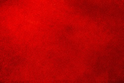 Designed grunge red canvas texture background.