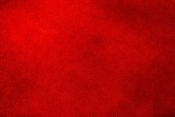 Designed grunge red canvas texture background.