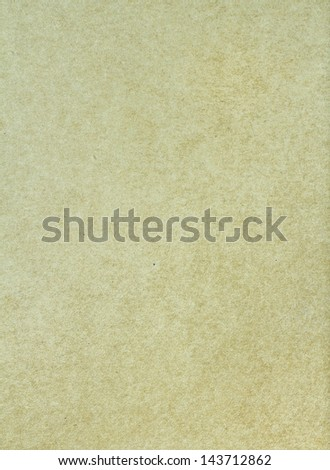 Designed light  green natural recycled paper texture, background
