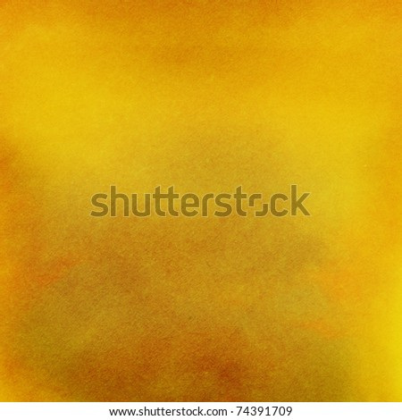Designed orange handmade paper background