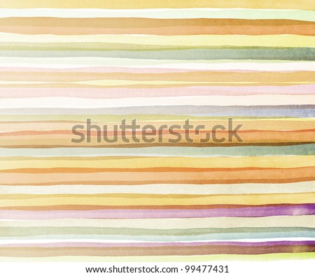 Designed watercolor art background, texture