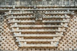 Designs of Uxmal's ruins in Merida Yucatan.