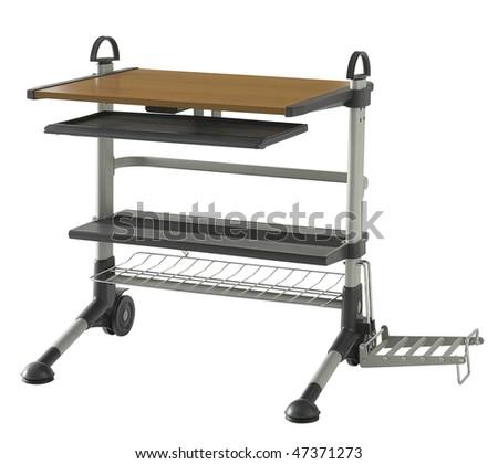 desk - stock photo