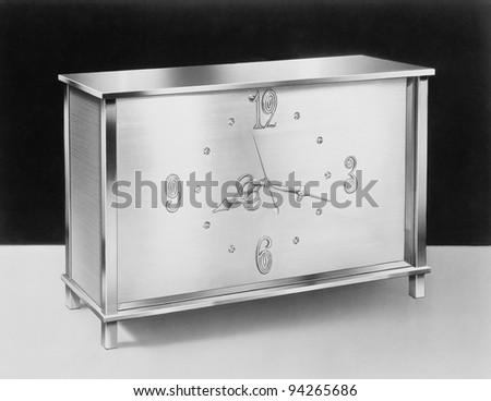 Desk clock, circa 1950s