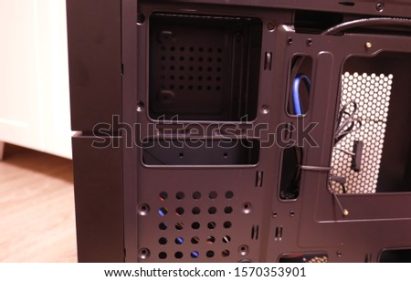 Desktop case for personal computer #1570353901