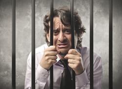 Desperate businessman behind bars