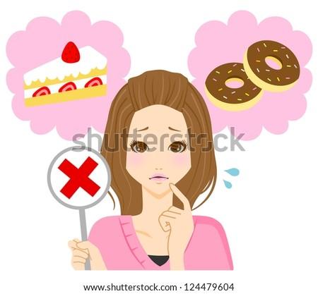 Dessert diet female
