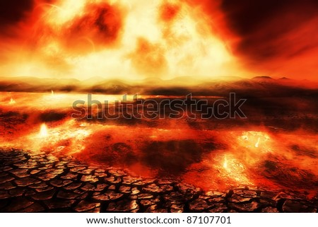 Destiny of the Earth - stock photo