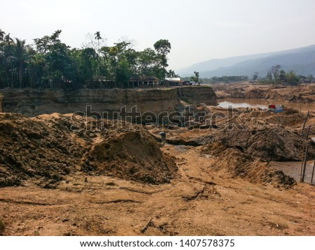 Destroying hill by 3rd world #1407578375