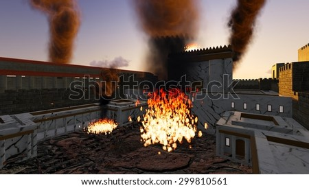 Destruction of the Second Temple of Jerusalem