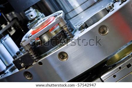 detail CNC punching machine
