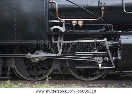 Detail Dampflokomotive