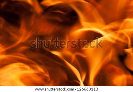 Detail flames for background use