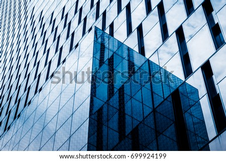 detail glass building background  #699924199