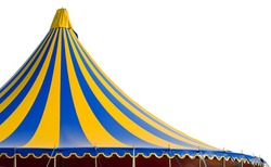 Detail of a circus tent.