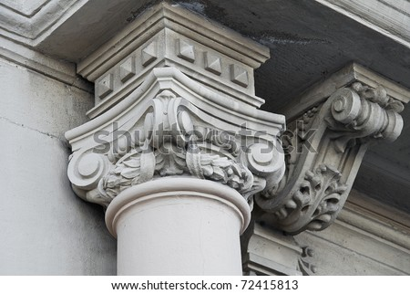 Detail of a column.