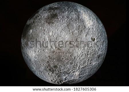 Detail of a Full Moon ストックフォト ©
