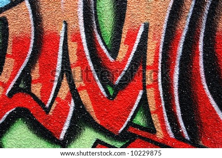 graffiti art backgrounds. art abstract ackground