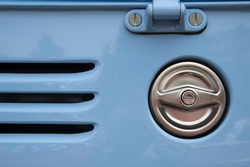 Detail of a Volkswagen car from Netherlands.