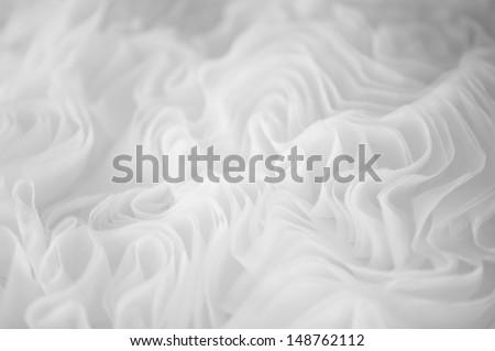 Detail of a wedding dress #148762112